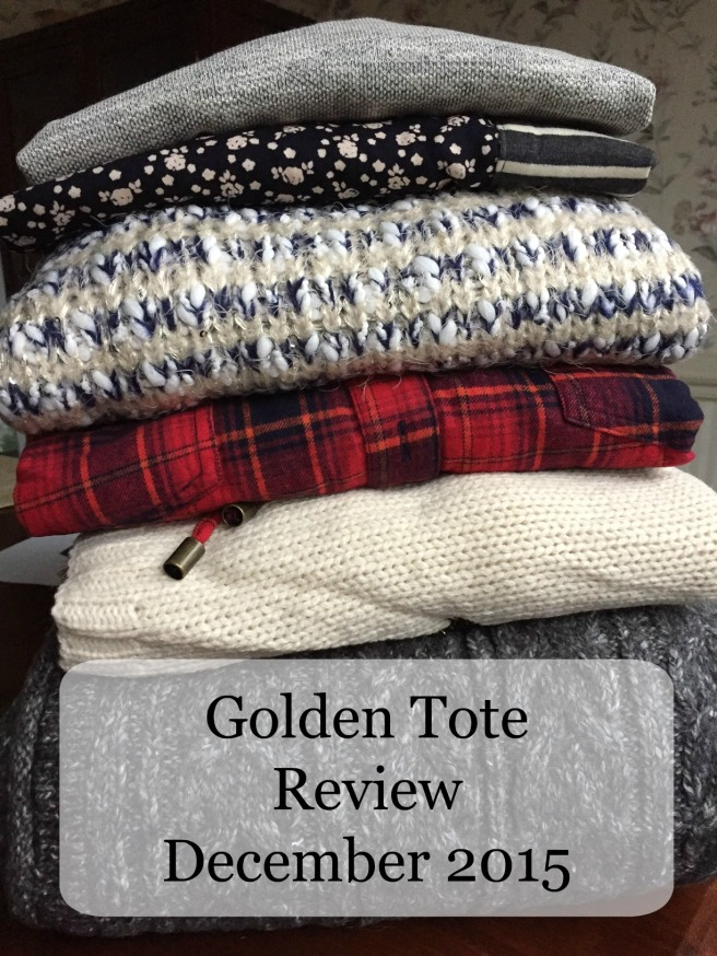 Golden Tote Review December 2015