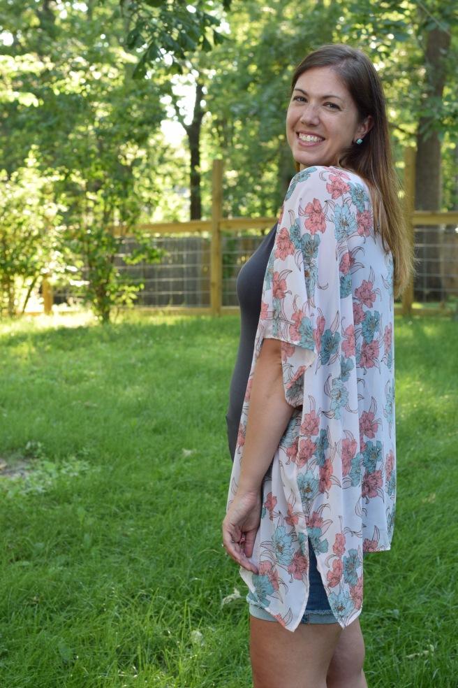 Floral Kimono 2
